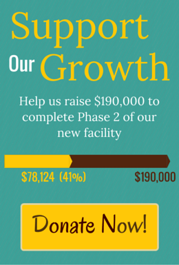 Support Our Growth and help Wildwoods build a new facility