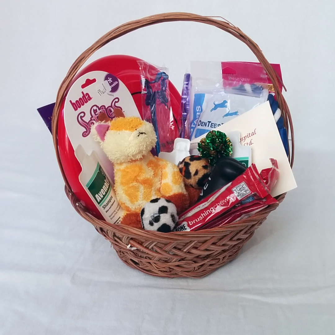 Superior Animal Hospital gift basket