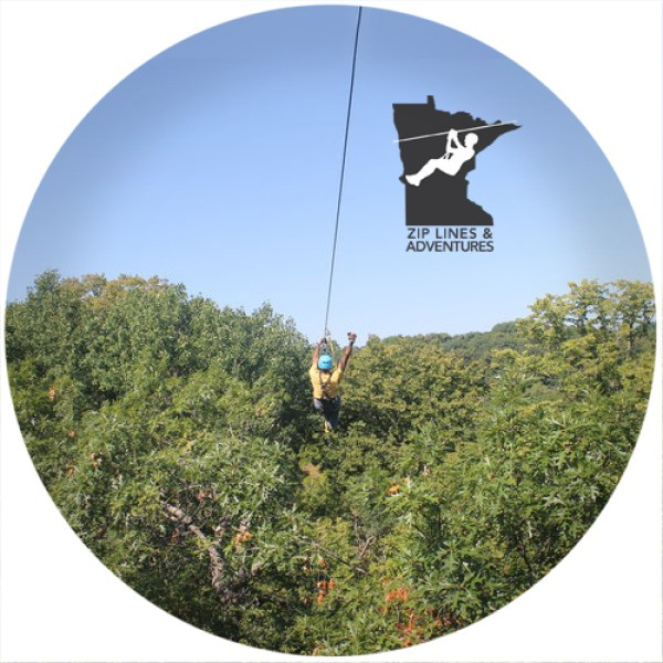 Zipline adventures in Minneapolis and Brainerd