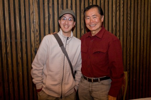 With George Takei After The Concert.