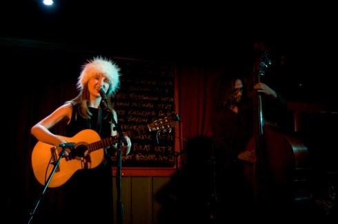 Kyrie Krismanson at The Black Sheep Inn on Sept. 26, 2009