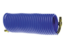 8137 blue coiled hose