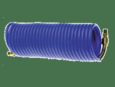 8137 blue coiled hose