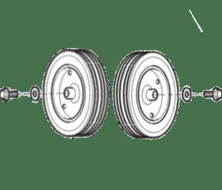 Alemite 393796 Wheel Kit