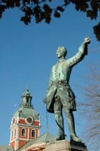 Stockholm: Karl XII statue