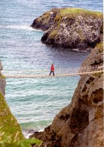 Carrick-A-Rede Rope Bridge, North Antrim, N.Ireland