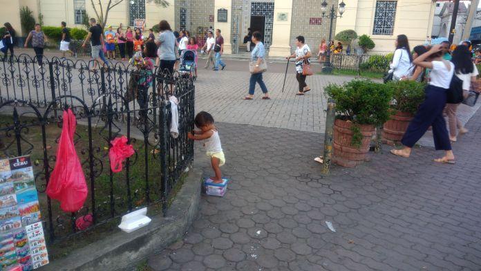 Себу, Филиппины - девочка