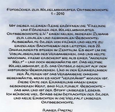 Fotobuch - Vorwort