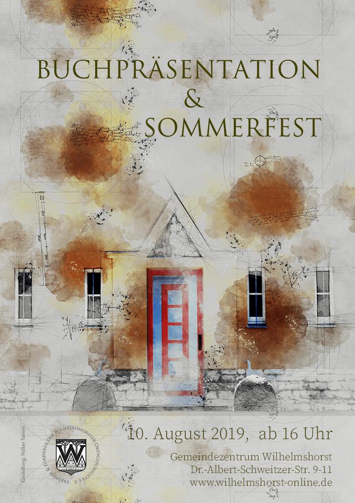 Sommerfest und Buchpräsentation 2019