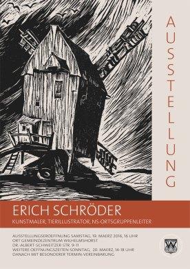 Erich Schröder - Kunstmaler, Tierillustrator, NS-Ortsgruppenleiter – zum Umgang mit Werk und Biografie