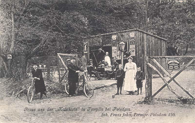 Forsthaus Templin - Ansichtskarte von 1906