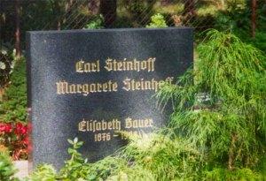 Grab von Carl Steinhoff