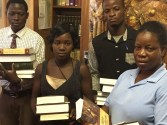 Zambian students at LTS in 2016