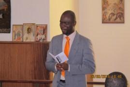 Dr E.Gbotoe as MC