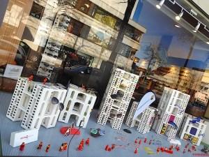 LEGO®-Ausstellung von Andreas Reikowski bei Optiker Kalb Stuttgart Sillenbuch 2018