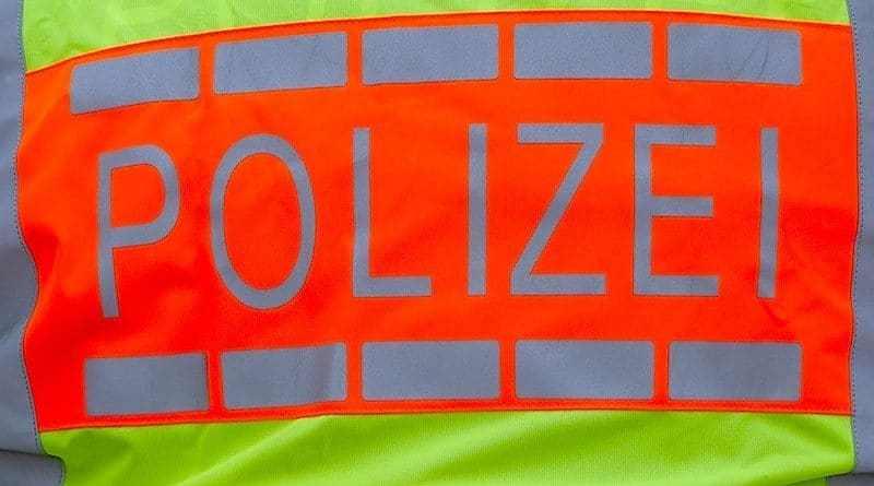 knallgelbe Polizeiweste