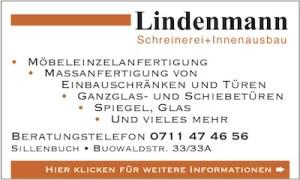 Lindenmann Schreinerei Banner