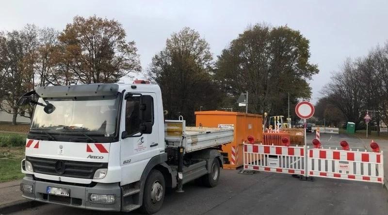 Netze BW Baustelle Gasleitung