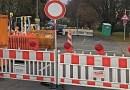 Bauverzögerung: Straße bleibt länger gesperrt
