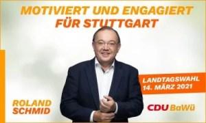 Anzeige Roland Schmid zur Landtagswahl Motiv 1