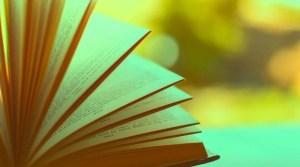 aufgeblättertes Buch