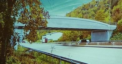 Iluustration der Ersatz-Hedelfinger Brücke über die B10