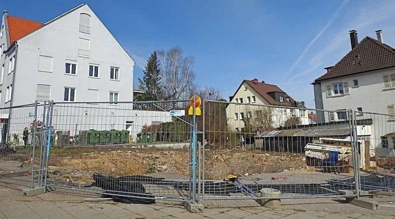 Baugrundstück ehemalige Dresdner Bank Sillenbuch