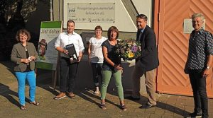 Fraktionsvertreter des Bezirksbeirates Hedelfingen danken Barbara Eisele