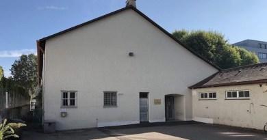 Turn- und Versammlungshalle Hedelfinger Straße 149 Haupteingang