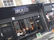 BRGR.CO Soho - Congrats! Approx 90% capacity by 13h00 on opening day...