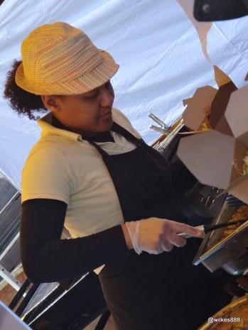 Munch Street Food - Vinn Goute serving up.