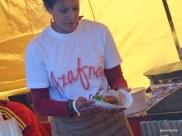 Munch Street Food - Azafran serving choirzo