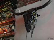 Joe's Southern Kitchen - Steampunk stag's head