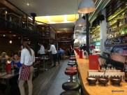 Joe's Southern Kitchen - Long bar with Mezzanine Level dining
