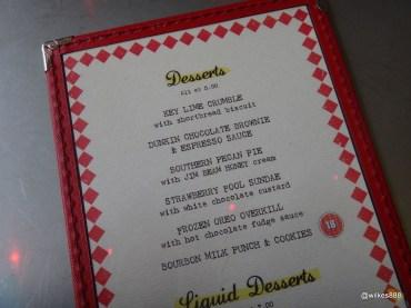 Joe's Southern Kitchen - Desserts