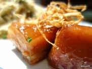 The Begging Bowl - Lovely Soft Orange Brown Pork