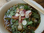 """The Begging Bowl - """"Uncle Att's Pork Noodle Soup with Vermicelli"""""""
