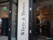Whyte & Brown - Simple understataed entrance which opens up to a al fresco seating