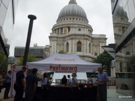Rentokil Pestaurant - In the shadow of St Paul's at One New Change