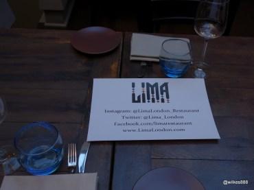Lima Restaurant London - Social Media Savvy