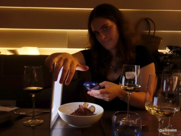 "Lima Restaurant London - The patented ""Wilkes iPad Trick"""