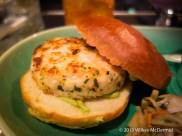 One Canada Square - Shrimp & Scallop Burger