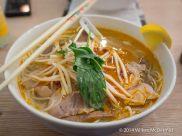 Bun Bo Hue (Beef Brisket & Pork in a Hot & Spicy Lemongrass Soup)