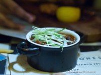 Bourbon Beans (Topped with Spring Onions...)
