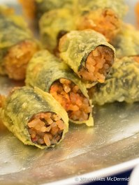 Gimmari - Korean Spring Rolls in Seaweed