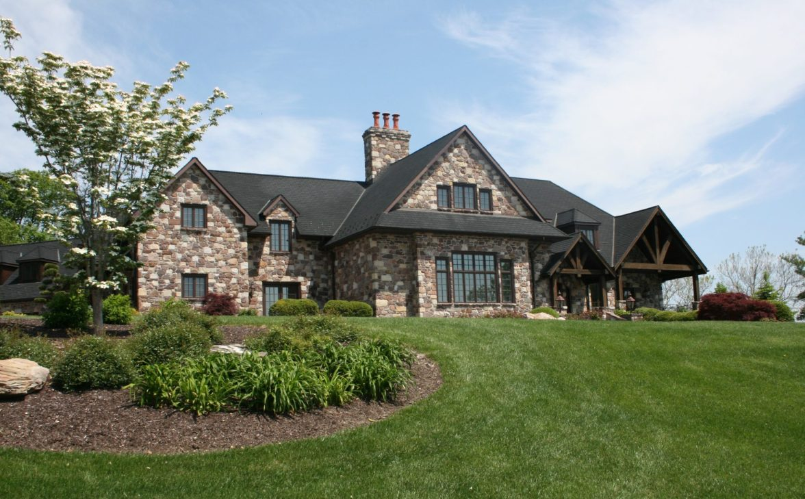 custom home architecture project