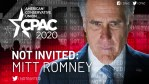 CPAC Snubs Mitt Romney Over Siding With Dems On Impeachment Witnesses
