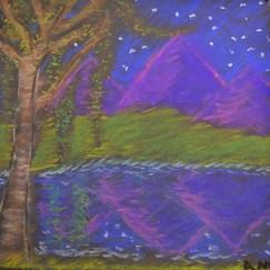 Amy C., Untitled--pastel