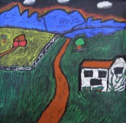 Henry L., Untitled--pastel