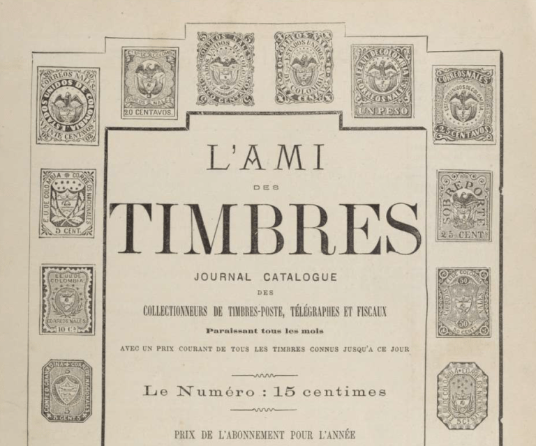 Oldest French Catalog of Venezuelan Stamps